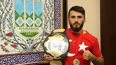 Azerbaycan asıllı milli sporcu Khayal Abdullayev'den Başkan Recep Tayyip Erdoğan'a Karabağ teşekkürü!