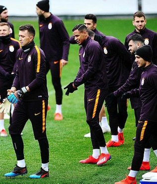 Galatasaray Kasımpaşa maçı hazırlıklarını tamamladı