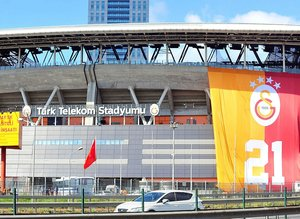Galatasaray TT Stadı'nda şampiyonluğunu kutladı