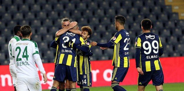 Fenerbahçe son anda güldü!