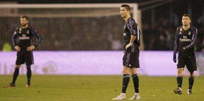 Real Madrid turnuvaya veda etti!