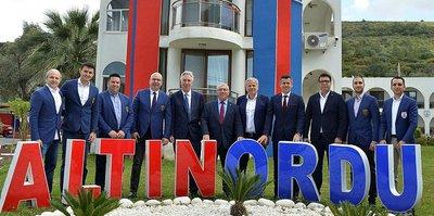 Altınordu'ya UEFA cıkarması