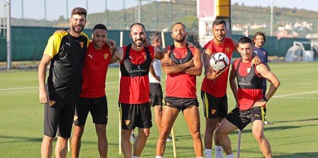 Göztepe'de yeni sezon hazırlıkları