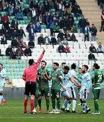 TFF 1. Lig'de en çok kızaran ikinci takım Bursaspor