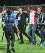 Taraftar hakeme saldırdı! Maç iptal edildi