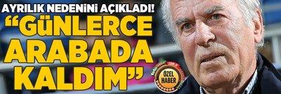 Mustafa Denizli ilk kez anlattı! Ayrılık ve şok gerçek...