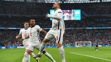 İtalya İngiltere maçı golle başladı! Luke Shaw attı