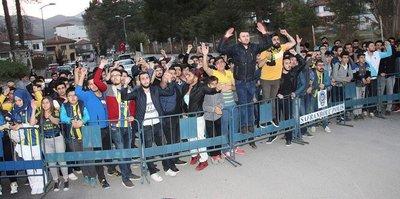 Fenerbahçe kafilesi Karabük'te