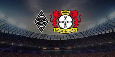 Borussia Mönchengladbach Bayer Leverkusen maçı ne zaman, saat kaçta ve hangi kanalda canlı yayınlanacak?