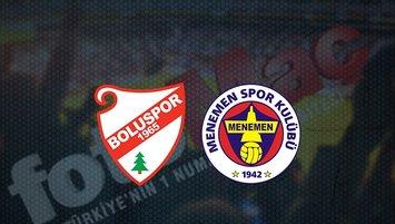 Boluspor - Menemenspor maçı saat kaçta? Hangi kanalda?