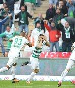 Bursaspor'dan farklı galibiyet