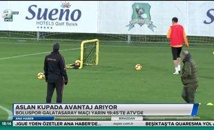 Galatasaray kupada avantaj arıyor