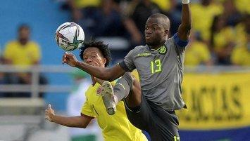 Valencia'lı Ekvador Kolombiya ile yenişemedi