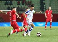 Türkiye - Özbekistan maçından kareler...