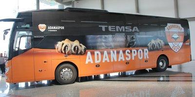 Adanaspor'a yeni takım otobüsü