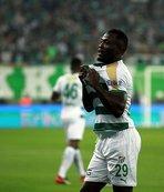 Bursaspor'un attığı 16 golün 15'i yabancılardan