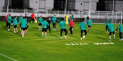 Bursaspor, ikinci yarı hazırlıklarına başladı
