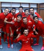 18 yaş altı milli futbolcular Hırvatistan'da şampiyon oldu