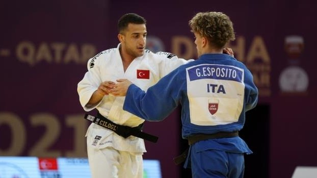 Milli judocu Bilal Çiloğlu Dünya üçüncüsü