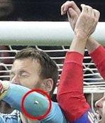 Futbol tarihine geçen kare! Diego Godin...
