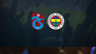Son dakika spor haberleri: Trabzonspor Fenerbahçe maçında ilk 11'ler belli oldu!