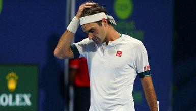 Federer'den Katar Açık'a erken veda