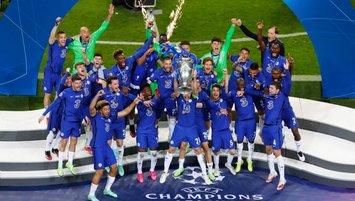 Son dakika spor haberleri: Şampiyonlar Ligi şampiyonu Chelsea! İşte kupa sevincinden kareler