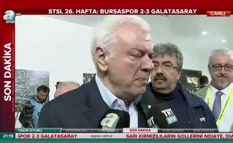 """Bursaspor Başkanı Ali Ay: """"İnce ince doğrandık"""""""