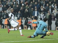 Beşiktaş - Gençlerbirliği maçından kareler