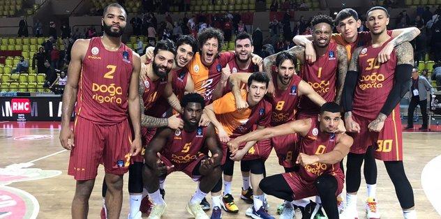 Galatasaray Monaco'yu devirdi!