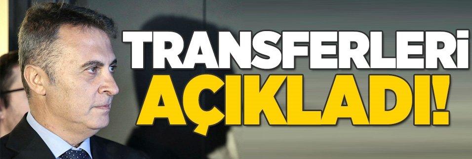 Fikret Orman transferleri açıkladı!