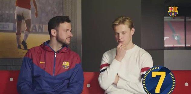 Barcelona'nın yeni transferi De Jong'dan Trabzonspor yanıtı