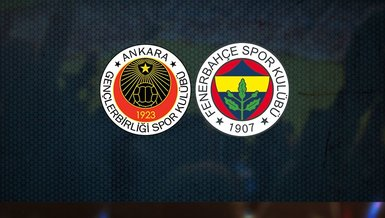 Gençlerbirliği Fenerbahçe maçı CANLI SKOR