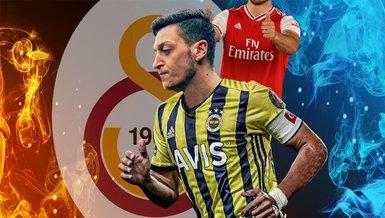 Son dakika spor haberi: Rakip olacaklar! Yıldız isim Galatasaray'ı Mesut Özil'e sordu