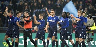 İtalya Kupası'nda ilk yarı finalist Lazio