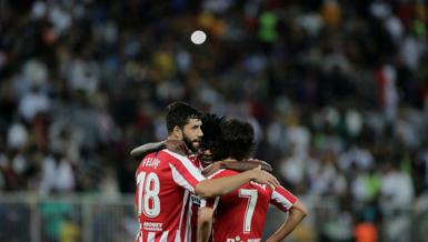 Atletico Barça'yı geçti: 3-2