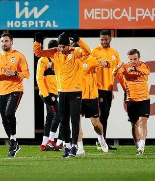 Galatasaray'da Atiker Konyaspor mesaisi başladı