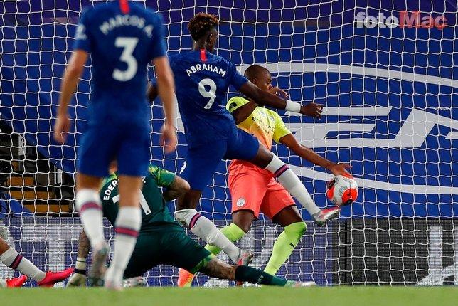 Chelsea - Manchester City maçından kareler