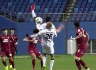 Güney Kore Ligi'nde korkutan olay! Boynu kırıldı...
