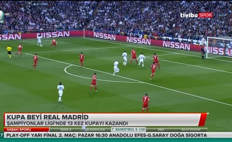 Kupa beyi Real Madrid