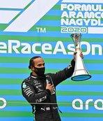 Hamilton'dan tarihi zafer! Schumacher'i yakaladı