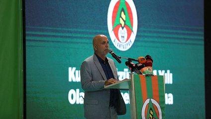 Son dakika spor haberleri: Alanyaspor'da Hasan Çavuşoğlu yeniden başkanlığa seçildi