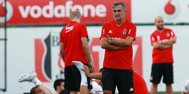 Beşiktaş, Antalyaspor'a hazırlanıyor