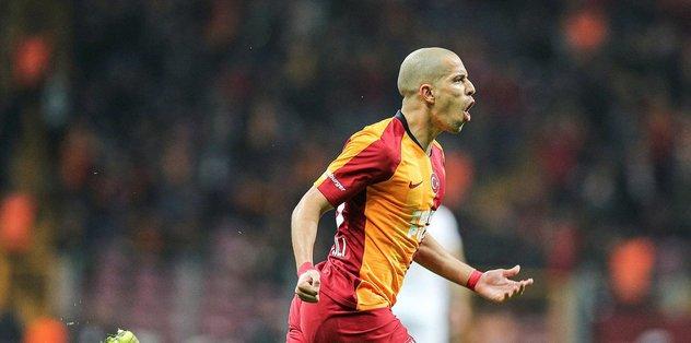 Galatasaraylı yıldız Sofiane Feghouli üçüncü kez baba oldu