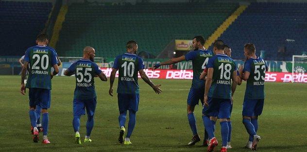 Çaykur Rizespor 3-0 Yeni Malatyaspor | MAÇ SONUCU - Futbol -