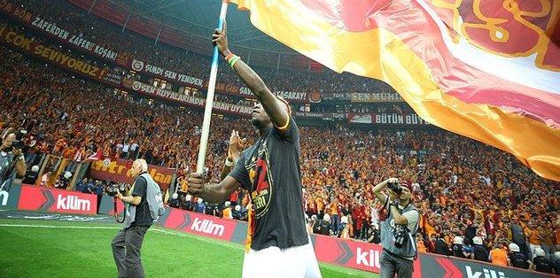 Galatasaraylı Diagne'nin mutluluk gözyaşları
