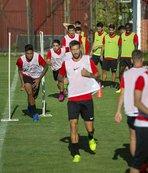 Gençlerbirliği Trabzonspor maçı hazırlıklarını sürdürdü