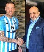 Adana Demirspor'da Stokes'in sözleşmesi feshedildi
