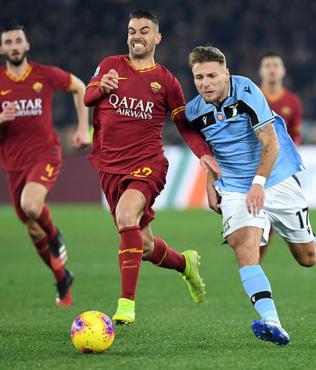 MAÇ SONUCU Roma 1-1 Lazio