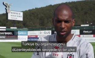 Ryan Babelden Türkiyeye EURO 2024 desteği BirliktePaylaşalım